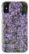 Purple Spikes Flora Impression 6.8.17  IPhone Case