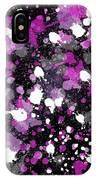 Purple Splash IPhone Case