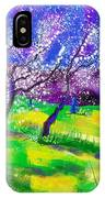 Purple Spring IPhone Case