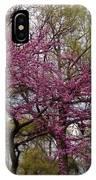 Purple Spring Trees IPhone Case by Rachel Maynard