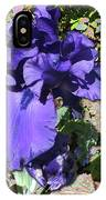 Purple Springtime Iris  IPhone Case