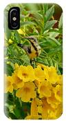 Purple Sunbird IPhone Case
