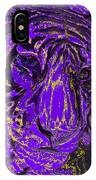 Purple Tiger IPhone Case