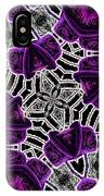 Purple Top Hats Kaleidoscope IPhone Case