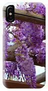 Purple Trellis IPhone Case