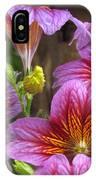 Purple Trumpets IPhone Case