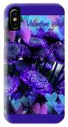 Purple  Valentine IPhone Case