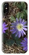 Purple Yard Flowers IPhone X Case