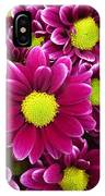 Purple Yellow Flowers IPhone Case