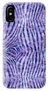 Purple Zebra Print IPhone Case