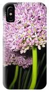 Purpleflower IPhone Case