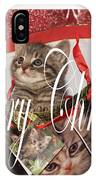 Purr Fect Present IPhone Case