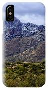Pusch Ridge Snow No8 IPhone Case