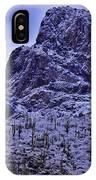 Pusch Ridge Snowfall IPhone Case