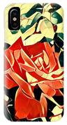 Push-button Flower IPhone Case