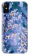 Pussy Willow Abstract IPhone Case