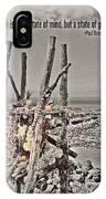 Puu Mahuka Heiau Hawaiian Temple IPhone Case