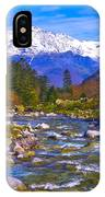 Pyrenees Lutour Torrent IPhone Case