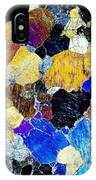 Pyroxenite Mineral, Light Micrograph IPhone Case