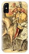 Pyrrhus Arrives In Italy With His Troupe IPhone Case