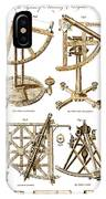 Quadrants And Sextant, 1790 IPhone Case