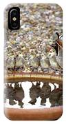 Quail Family Gathering Az IPhone Case