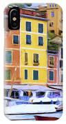 Quayside At Portofino IPhone Case