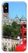 Quebec City 57 IPhone Case
