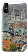 Quebec City 65 IPhone Case