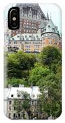 Quebec City 68 IPhone Case