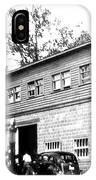 Quebec Garage 1940s IPhone Case