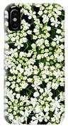 Queen Anne's Lace Patterns IPhone Case
