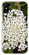Queen Anne's Lace IPhone Case