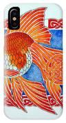 Queen Goldfish IPhone Case