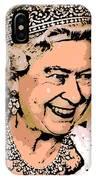 Queen Of Diamonds IPhone Case