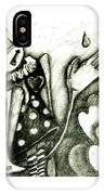 Queen Of Hearts IPhone Case by Delight Worthyn