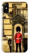 Queens Guards. IPhone Case