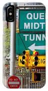 Queens Midtown Tunnel IPhone Case