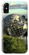 Queens New York City - Unisphere IPhone Case