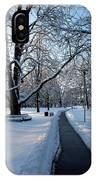 Queen's Park Pathway IPhone Case