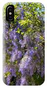 Queen's Wreath Vine IPhone Case