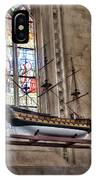 Quelven Church, Brittany, France, Ship IPhone Case