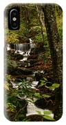 Quiet Autumn Stream IPhone Case