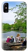 Quiet Moment In Central Park IPhone Case