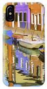 Quiet Waterway Reflections IPhone Case