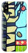 Quilted Birch Garden IPhone Case