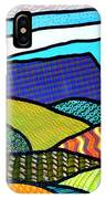 Quilted Mountain Peak IPhone Case