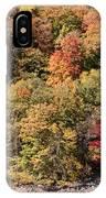 Quinnipiac River Color IPhone Case