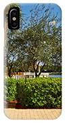 Quite Corner In Weston Florida IPhone Case