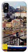 Rabelo Boats On River Douro In Porto 02 IPhone Case